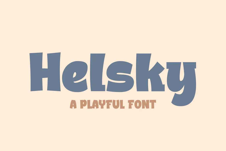 Helsky Font