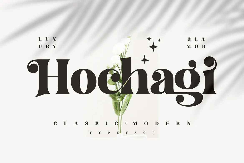 Hochagi Font
