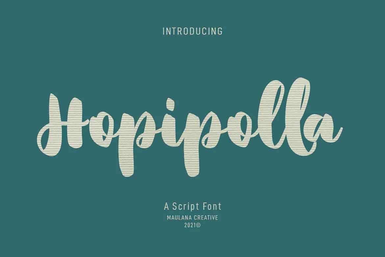 Hopipolla Font