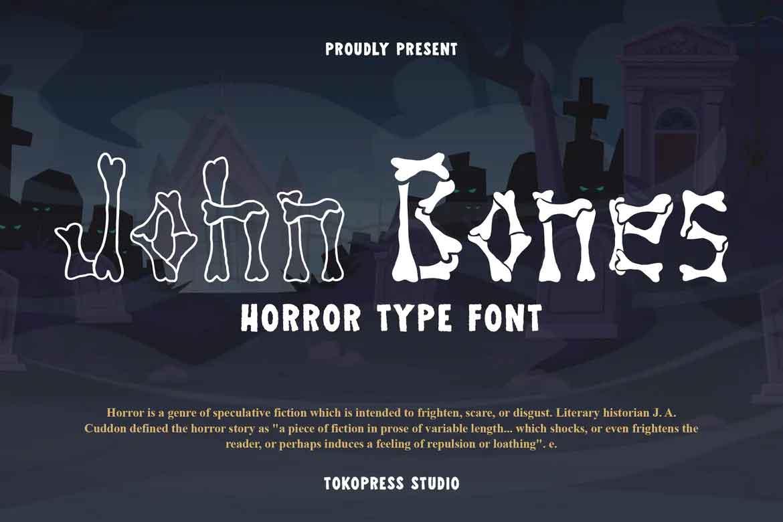 John Bones Font