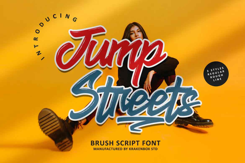 Jump Streets Font