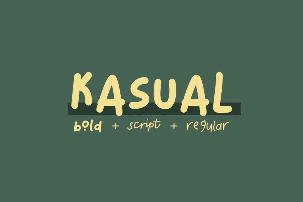 Kasual Font