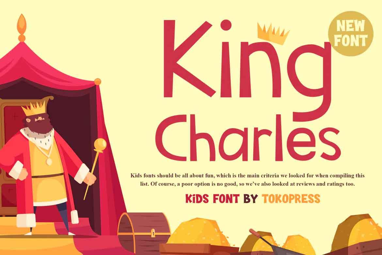 King Charles Font