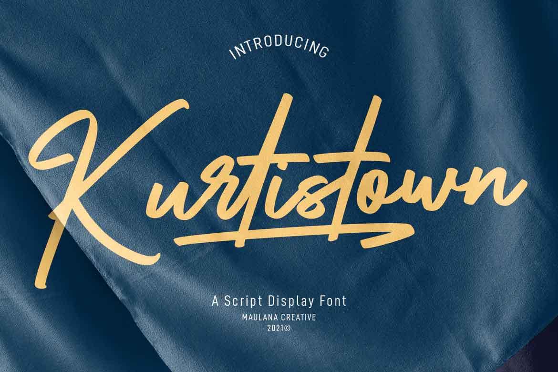 Kurtistown Script Font