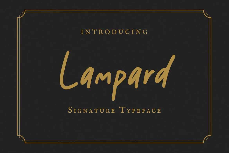Lampard Font
