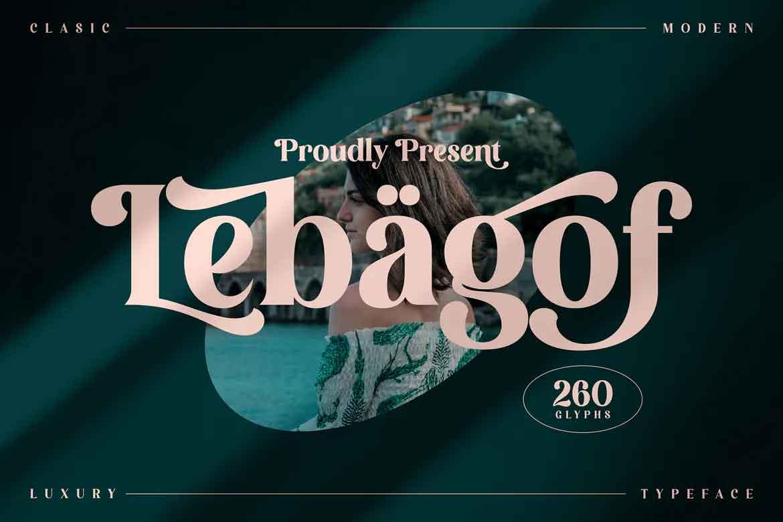 Lebagof Font