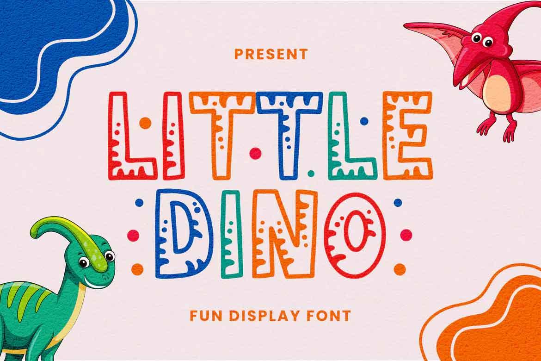 Little Dino Font