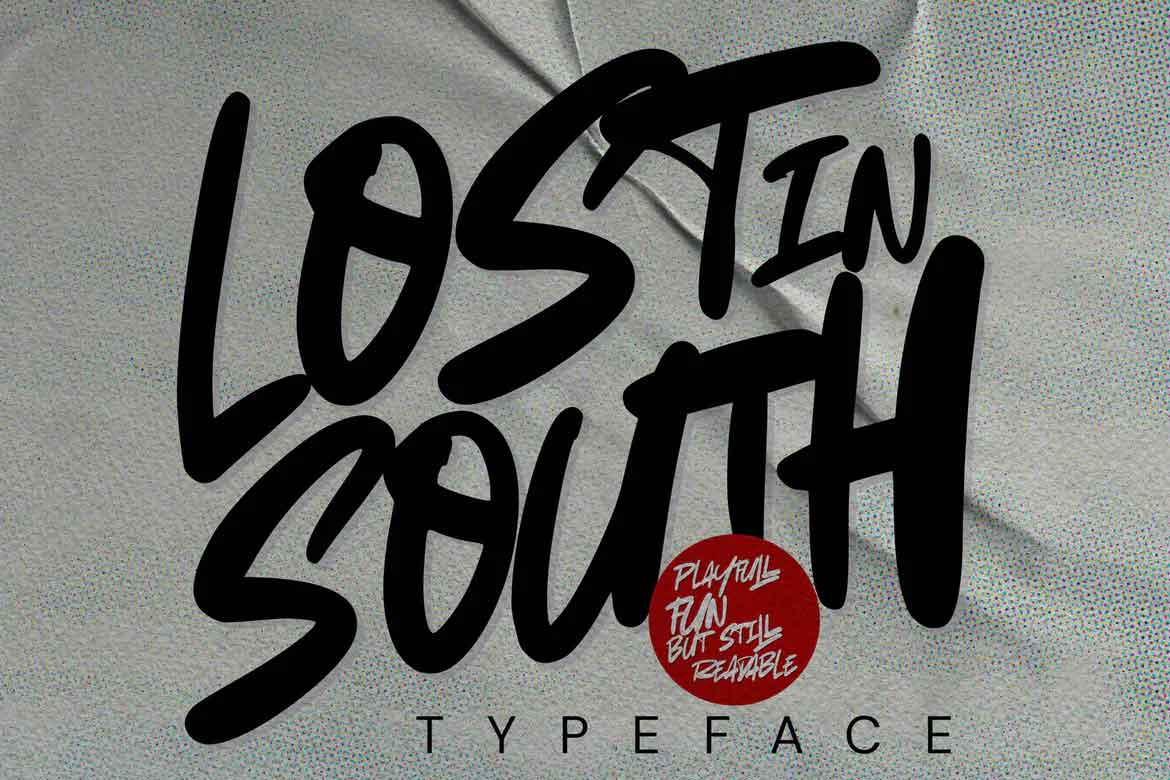 Lost in South Font