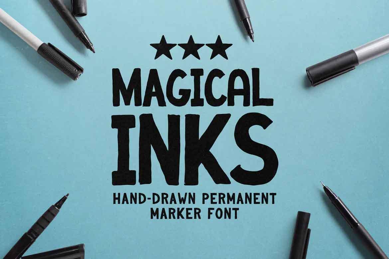 Magical Inks Font