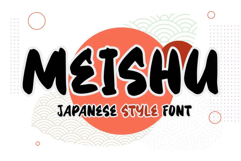 Meishu Font
