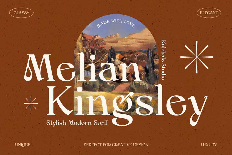 Melian Kingsley Font