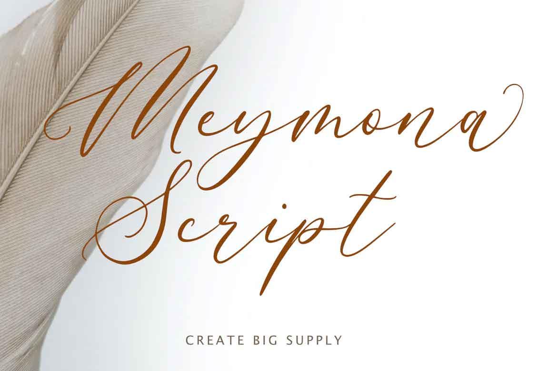 Meymona Script