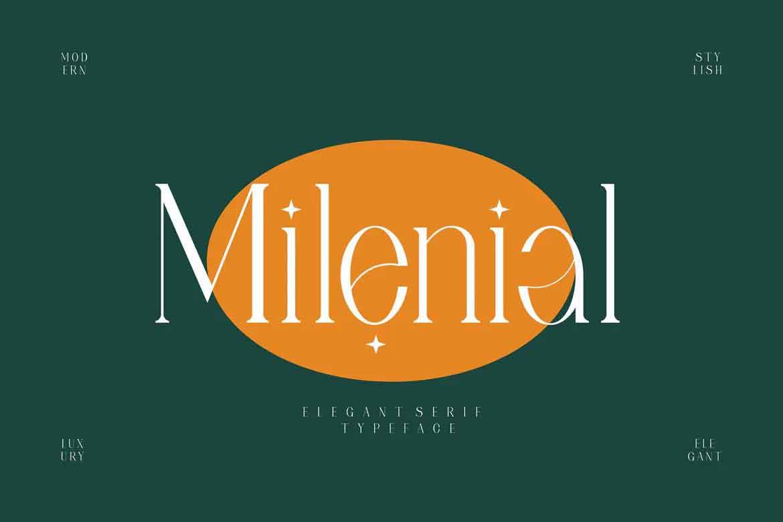 Milenial Font
