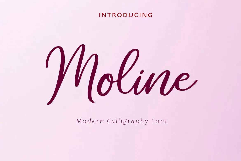 Moline Font