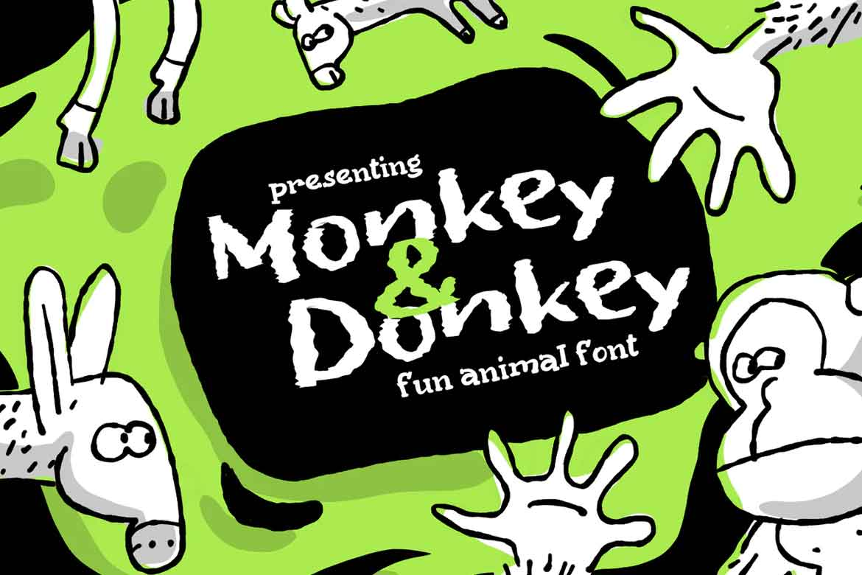 Monkey&Donkey Font