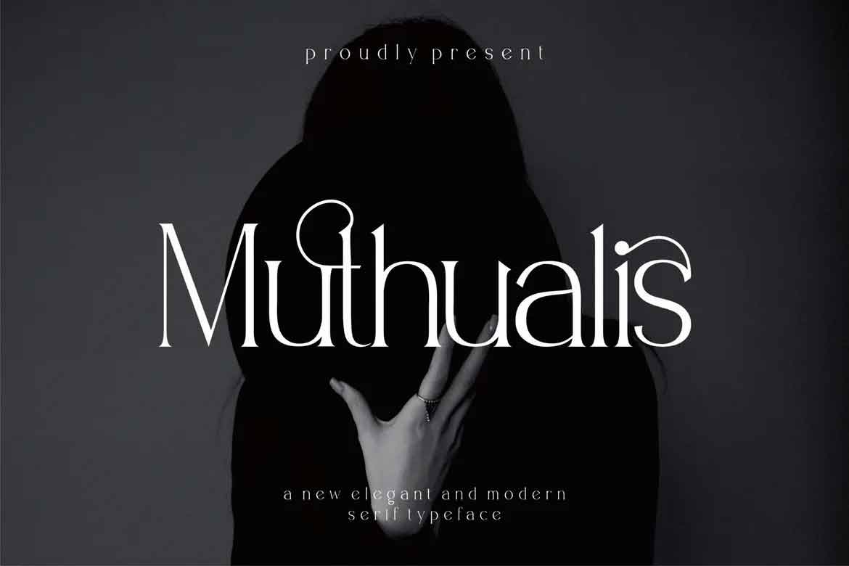 Muthualis Font