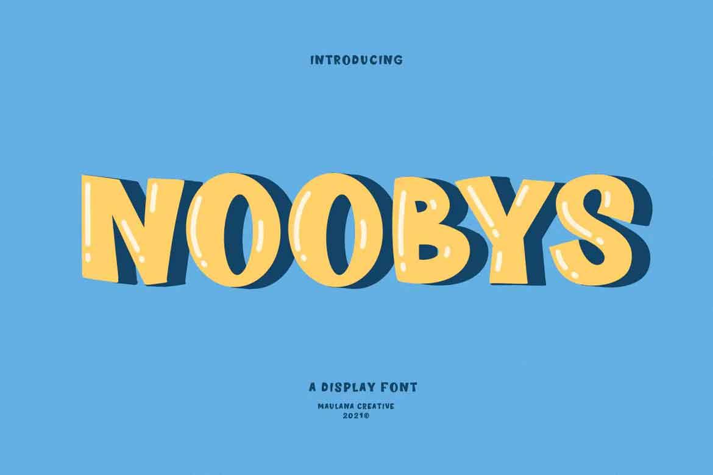 Noobys Font
