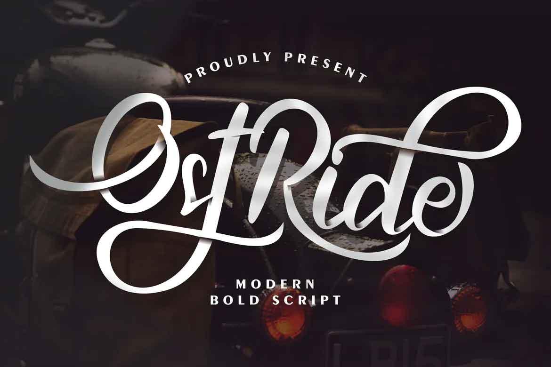 OstRide Font
