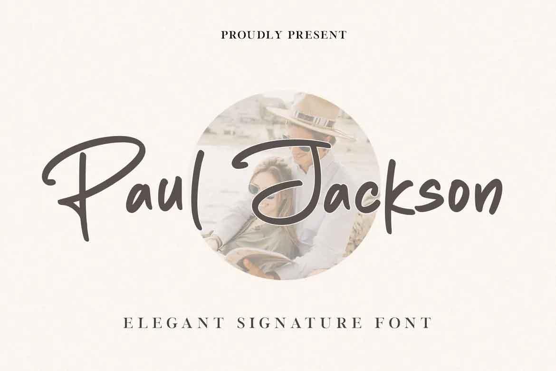 Paul Jackson Font