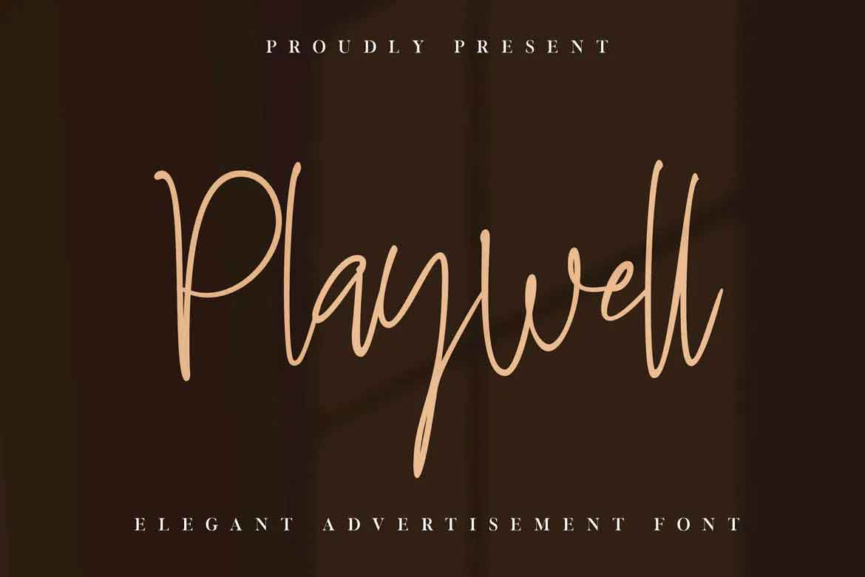 Playwell Font