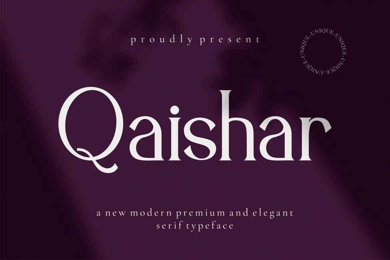 Qaishar Font