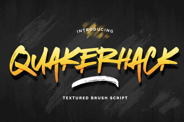 Quakuerhack Font