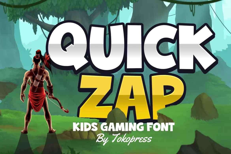 Quick Zap Font