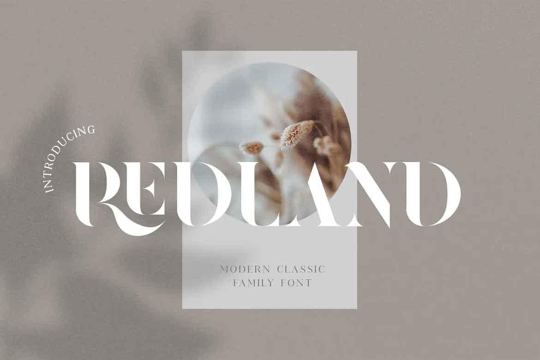 Redland Font