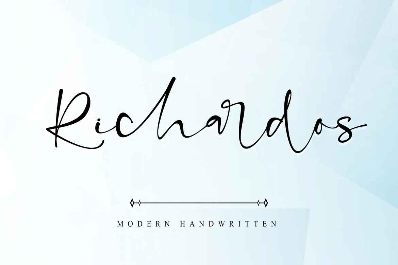 Richardos Font