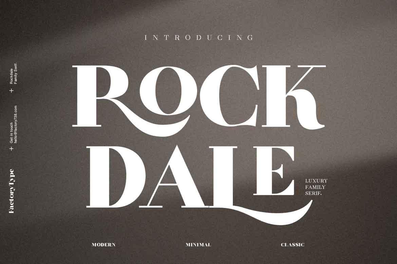Rockdale Font