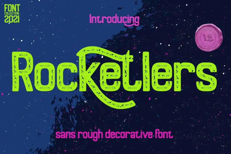 Rocketlers Font