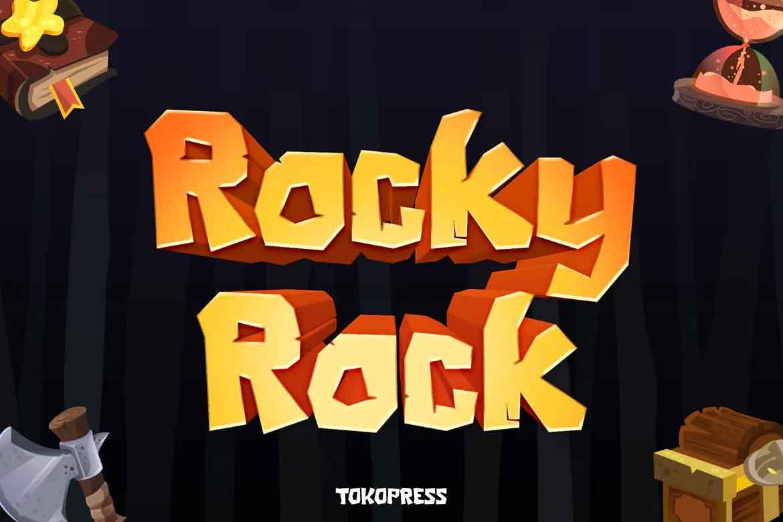 Rocky Rock Font