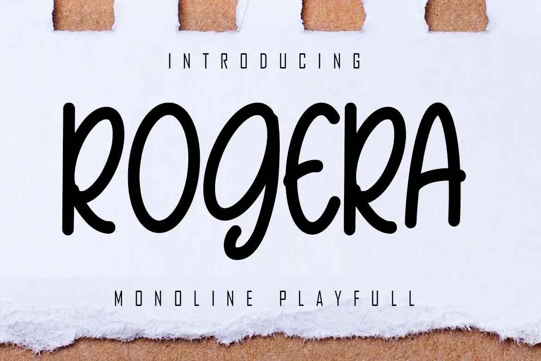 Rogera Font