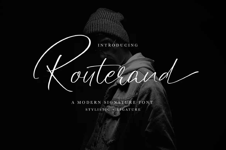 Routerand Font