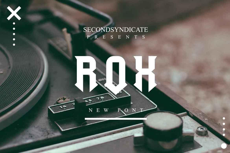 Rox Font