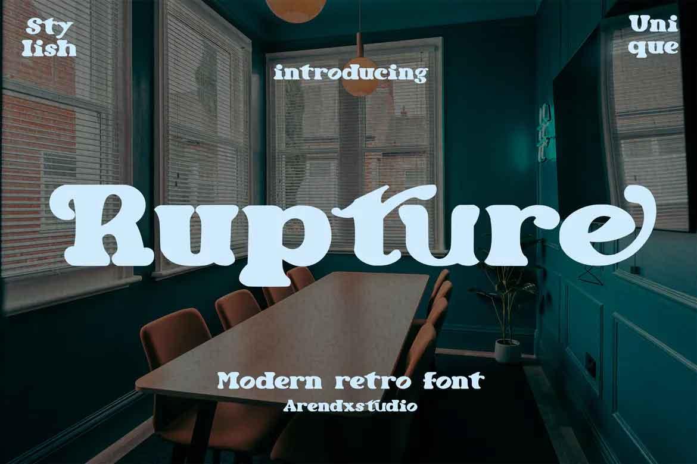 Rupture Font