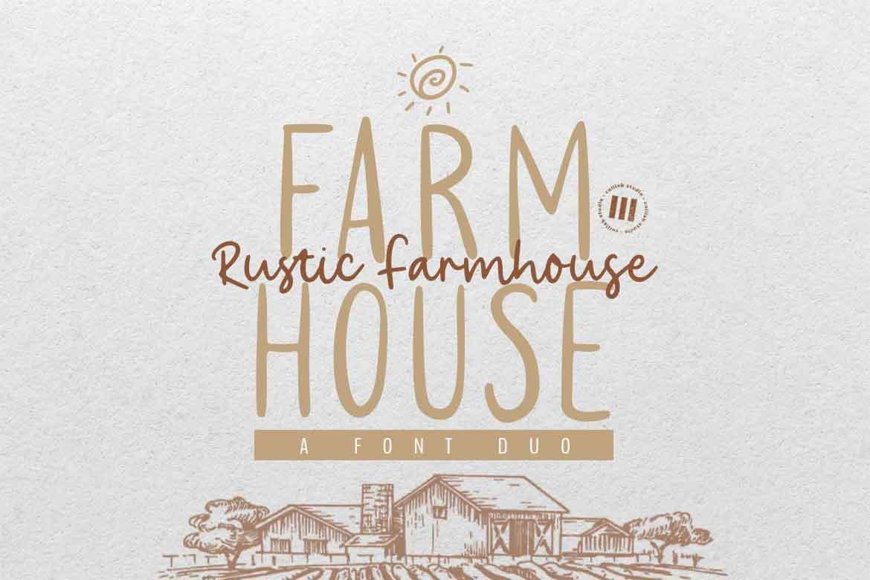 Rustic Farmhouse Font