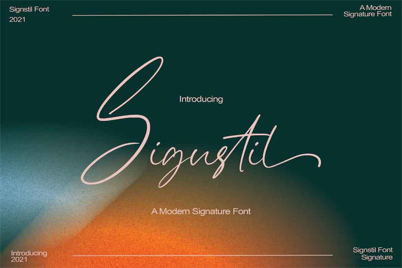 Sigustil Font