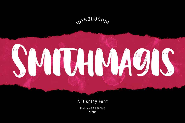 Smithmagis Font