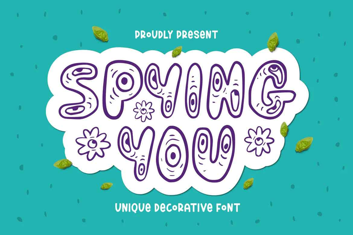 Spying You Font
