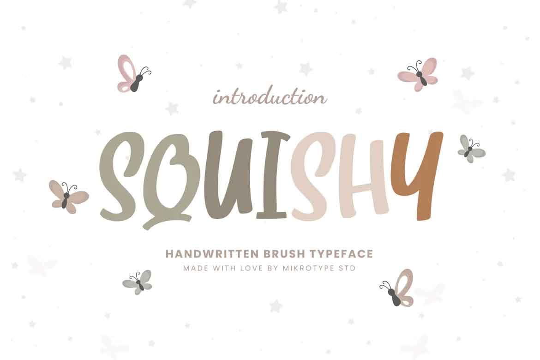 Squishy Font