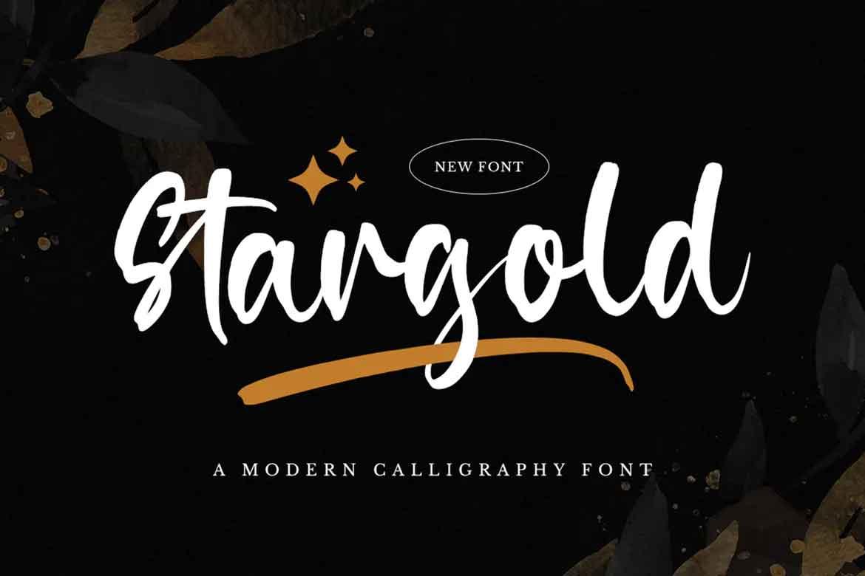 Stargold Font