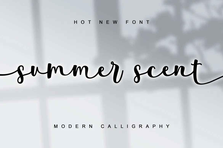 Summer Scent Font