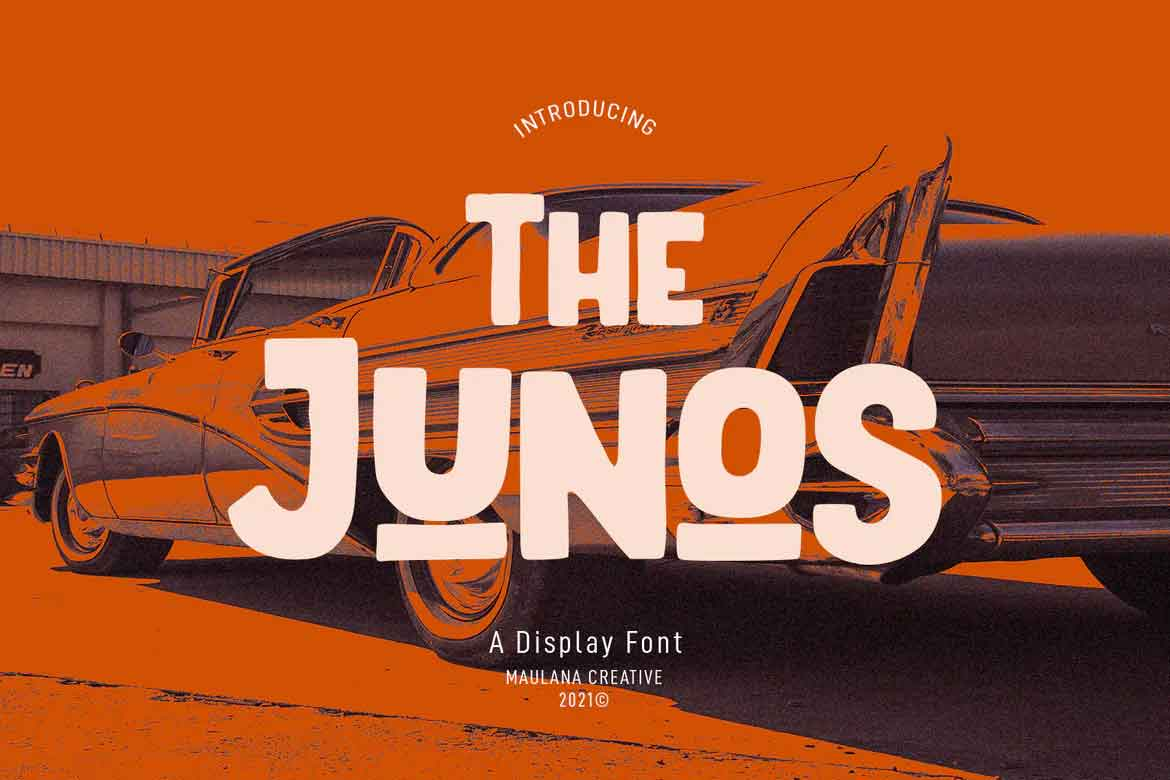 The Junos Font