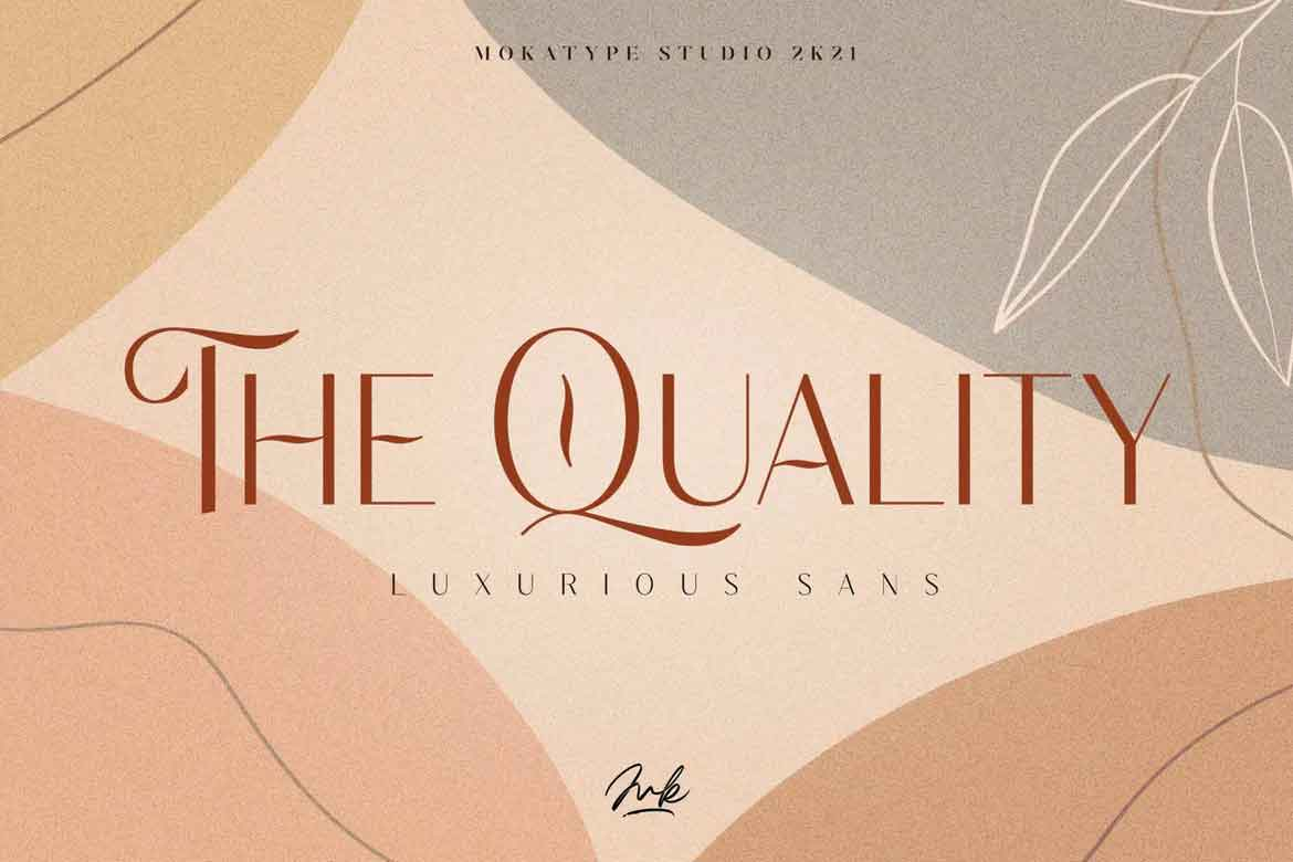 The Quality Font