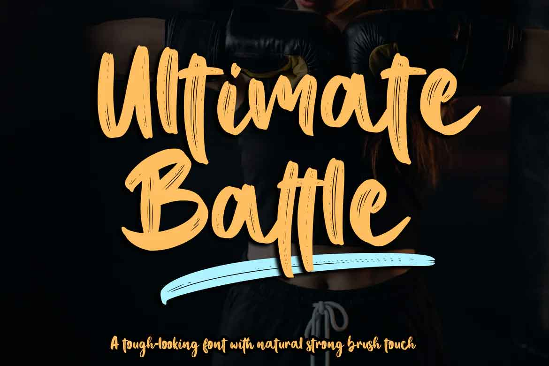 Ultimate Battle Font