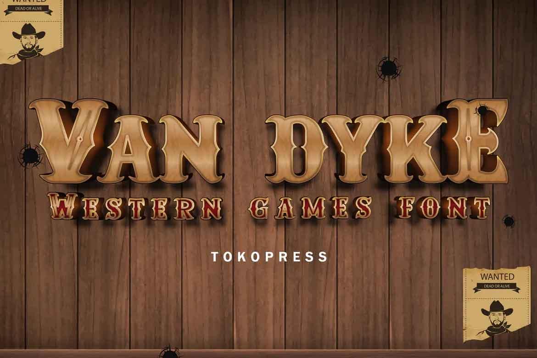 Van Dyke Font