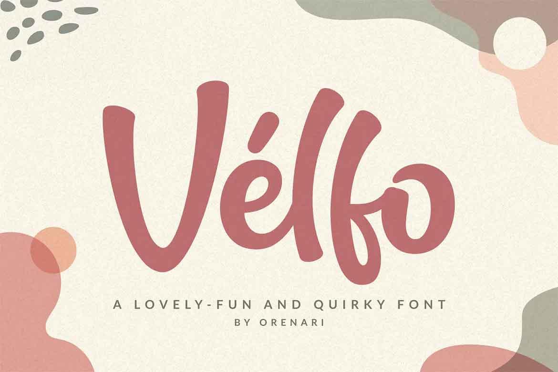Velfo Font