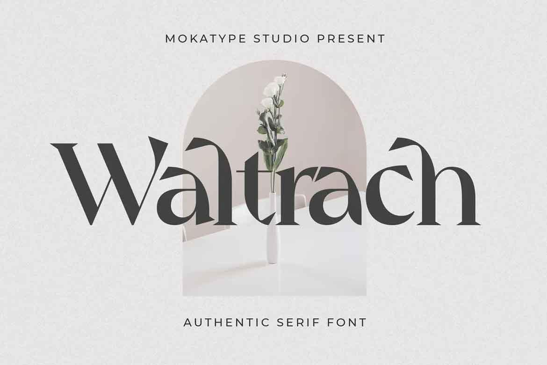 Waltrach Font
