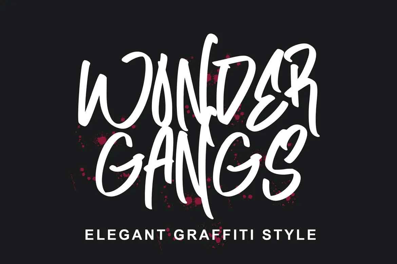 Wonder Gangs Font